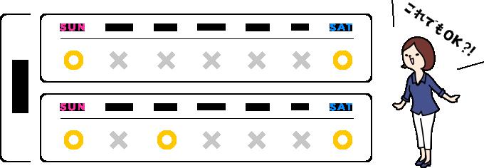勤務日数短縮制度(週2・3回勤務社員)